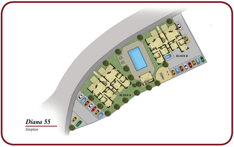 diana site plan apartment new2
